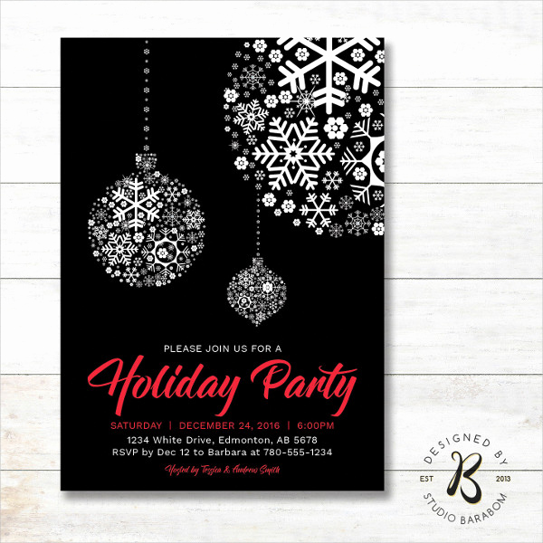 Free Holiday Invitation Templates Lovely 20 Holiday Invitations Free Psd Vector Ai Eps format