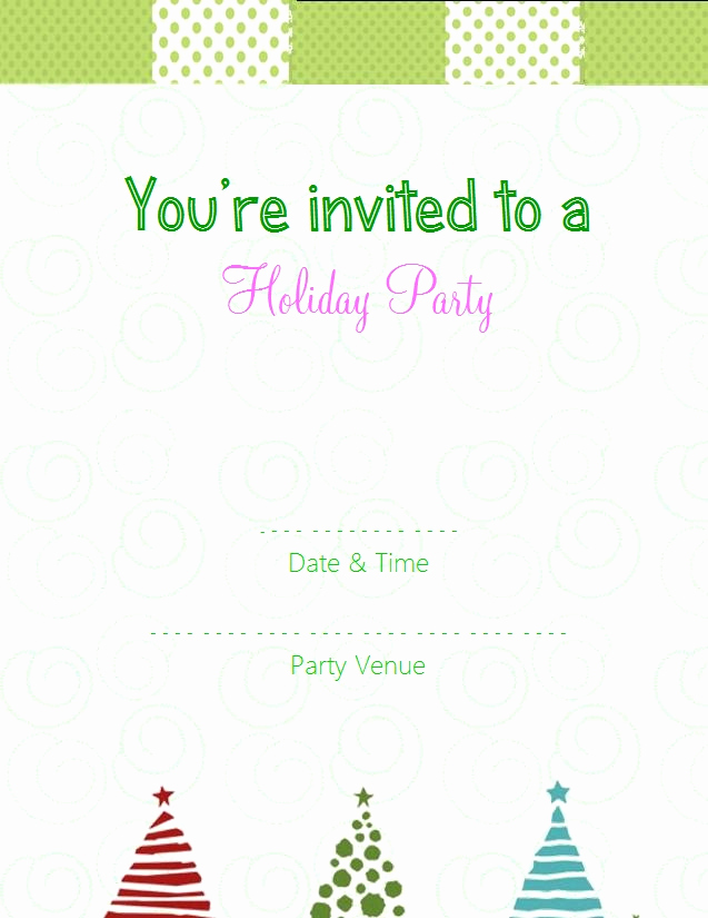 Free Holiday Invitation Templates Luxury Choose From these Free Christmas Party Invitation Templates