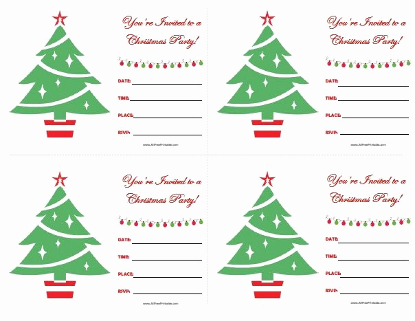 Free Holiday Party Invitation Templates Best Of 111 Best Images About All Free Printable On Pinterest