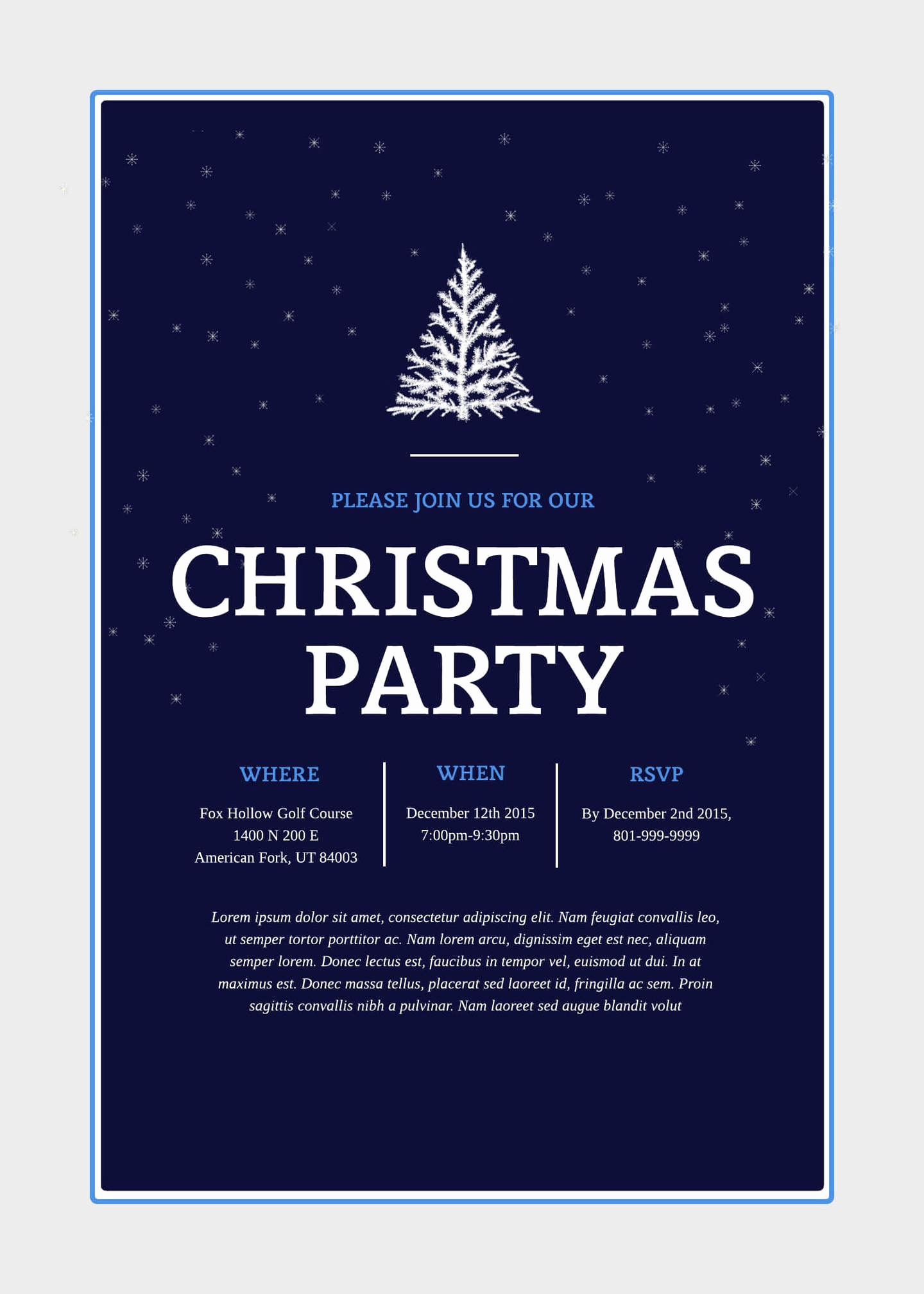Free Holiday Party Invitation Templates Elegant Print and Win Holiday Sweepstakes