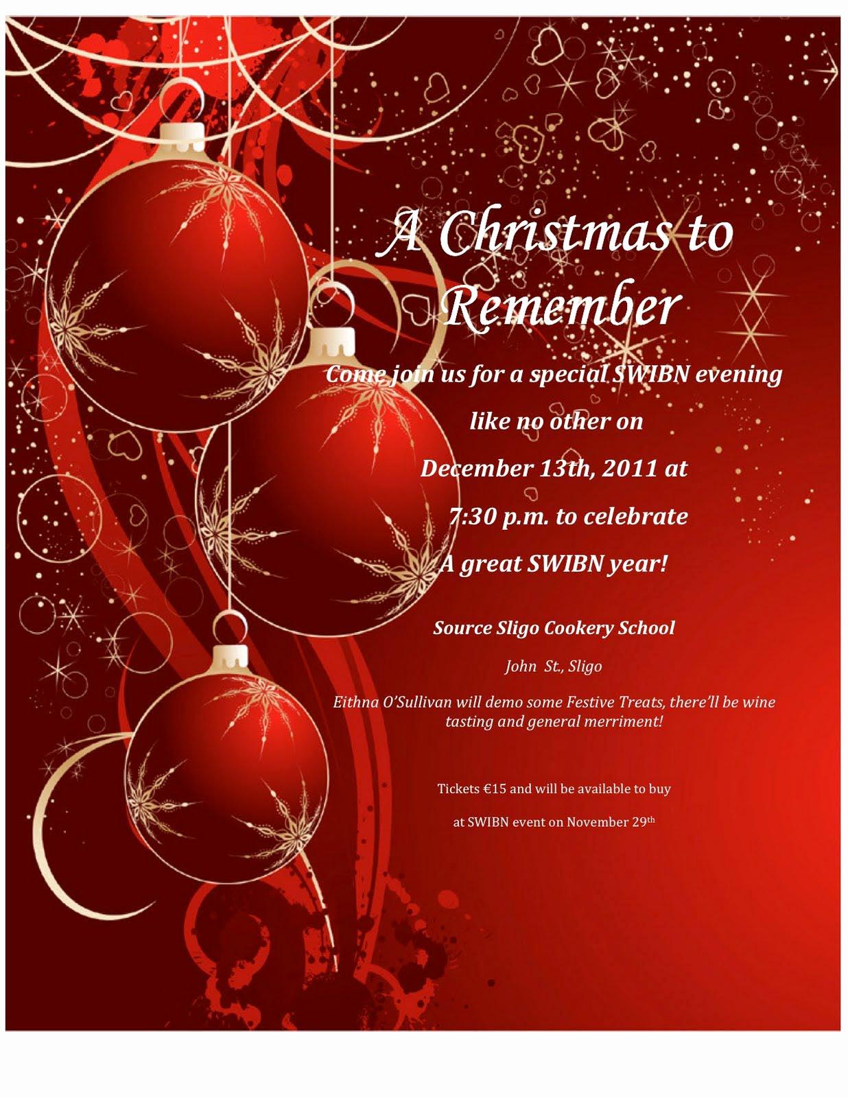 Free Holiday Party Invitation Templates Luxury Word Christmas Party Invitation Template