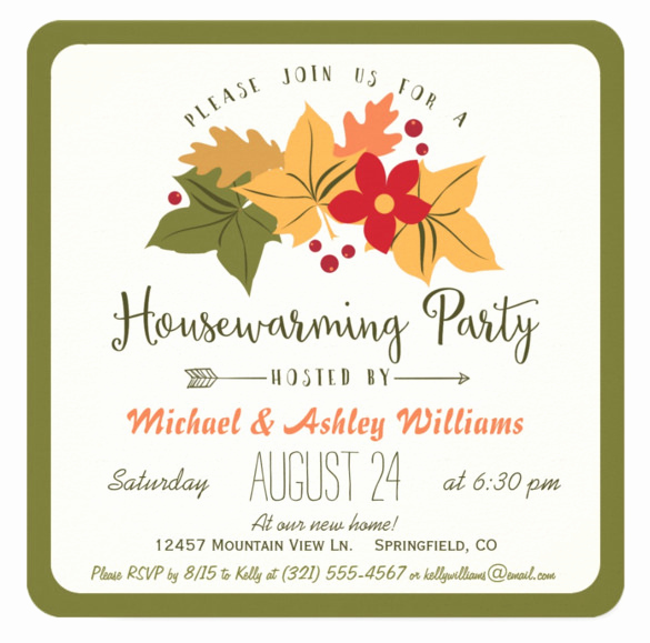 Free Housewarming Invitation Template Awesome 23 Housewarming Invitation Templates Psd Ai