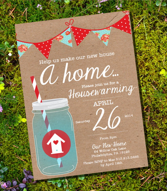 Free Housewarming Invitation Template Luxury 15 Amazing Housewarming Invitation Templates Psd