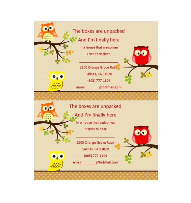 Free Housewarming Invitation Template New 40 Free Printable Housewarming Party Invitation Templates
