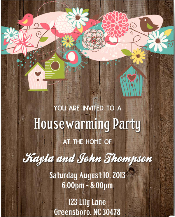 Free Housewarming Invitation Template New 8 Housewarming Invitation Templates Free Download
