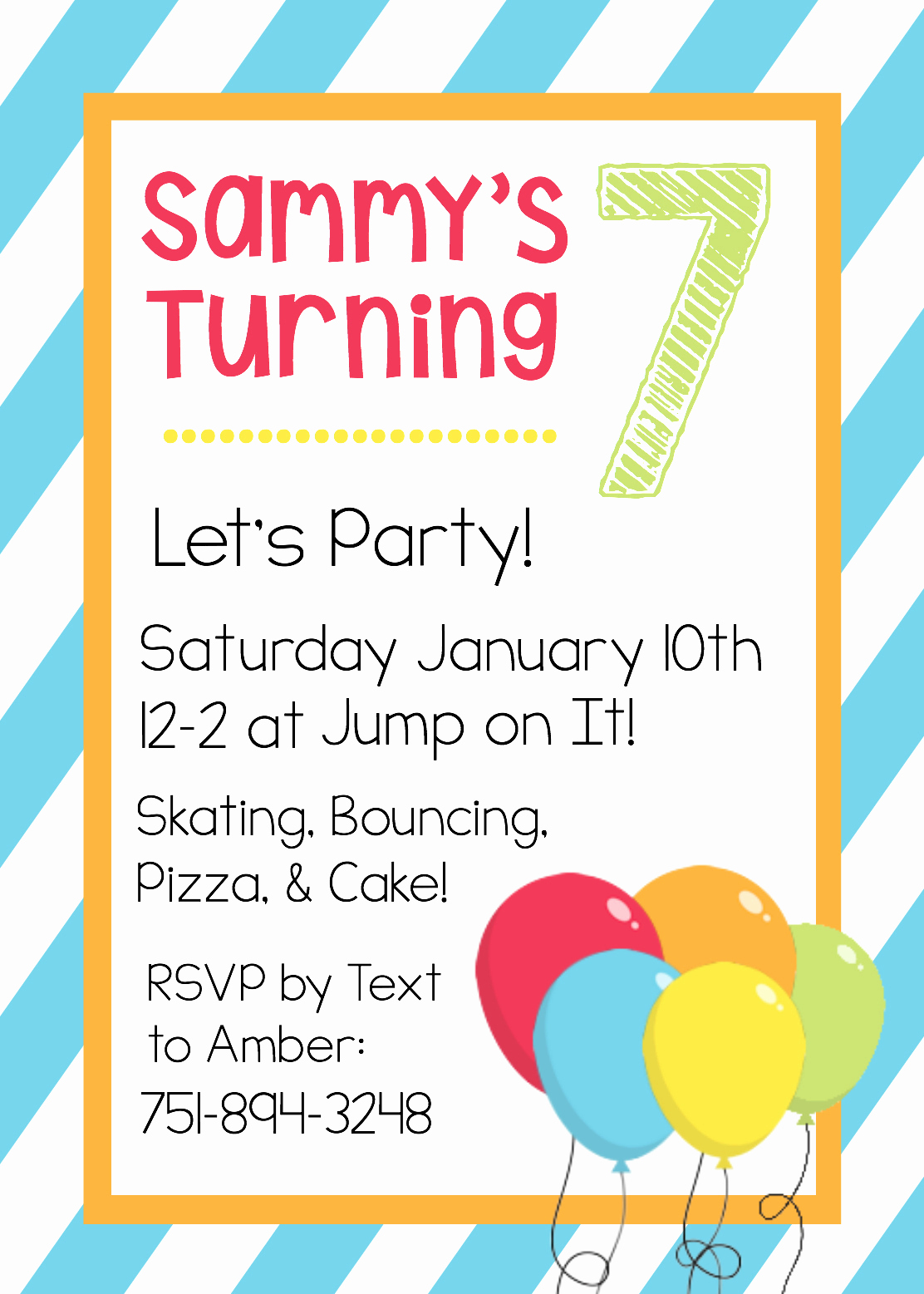 Free Invitation Template Printable Inspirational Free Printable Birthday Invitation Templates
