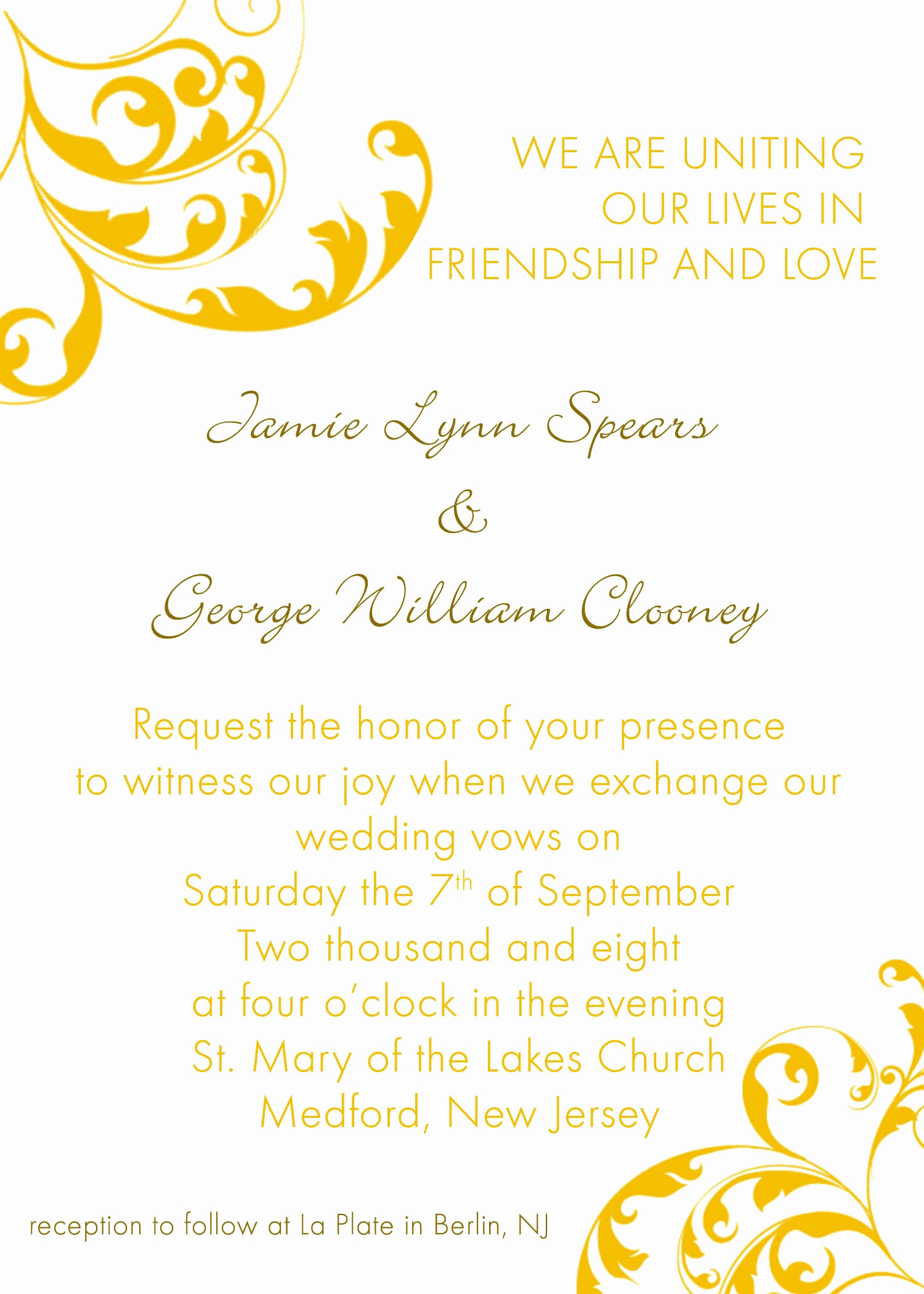 Free Invitation Templates for Word Beautiful Invitation Word Templates Free Wedding Invitation