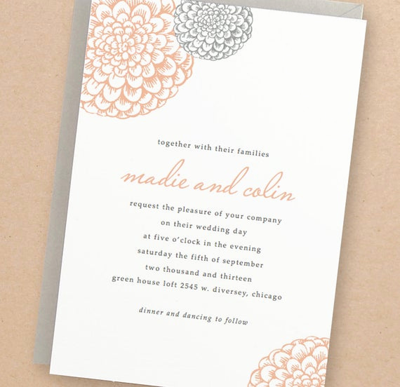 Free Invitation Templates for Word Lovely Printable Wedding Invitation Template Instant Download