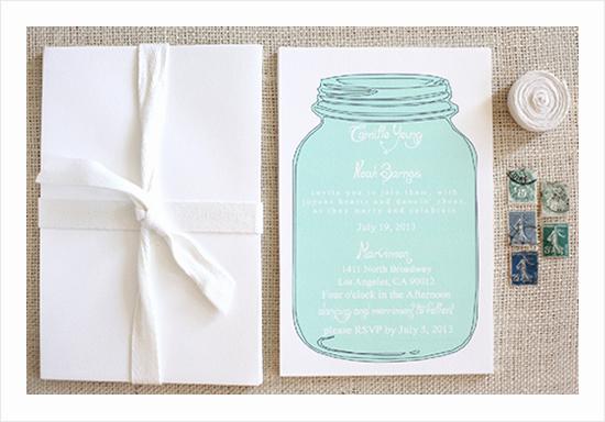 Free Mason Jar Invitation Template Beautiful Free Mason Jar Wedding Invitation Printable Templates