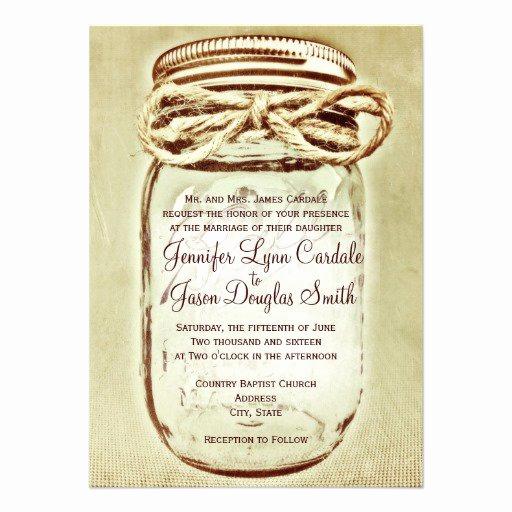 Free Mason Jar Invitation Template Best Of Mason Jar Wedding Invitations