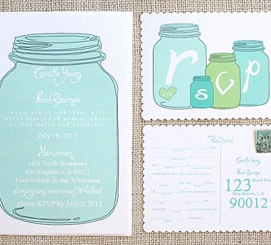 Free Mason Jar Invitation Template Lovely Free Wedding Invitation Templates Mountain Modern Life