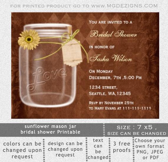Free Mason Jar Invitation Template Luxury Mason Jar Invitations Templates Blank
