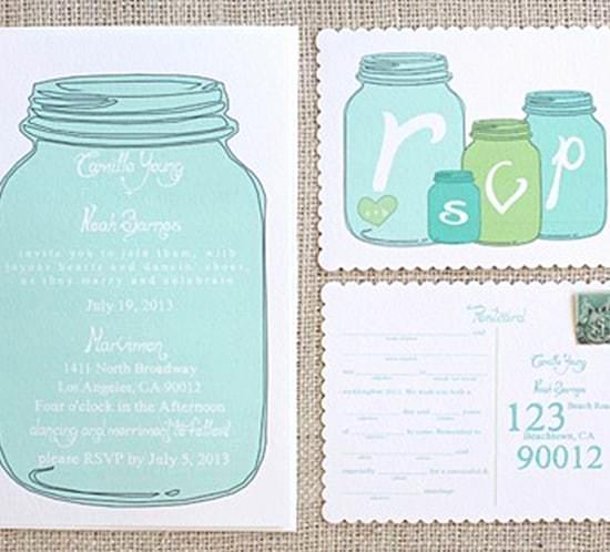 Free Mason Jar Invitation Templates Inspirational Free Wedding Invitation Templates Mountain Modern Life