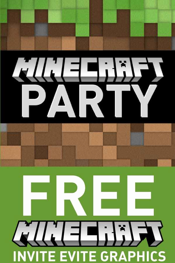 Free Minecraft Invitation Printable Best Of Free Minecraft Birthday Invitations Personalize for