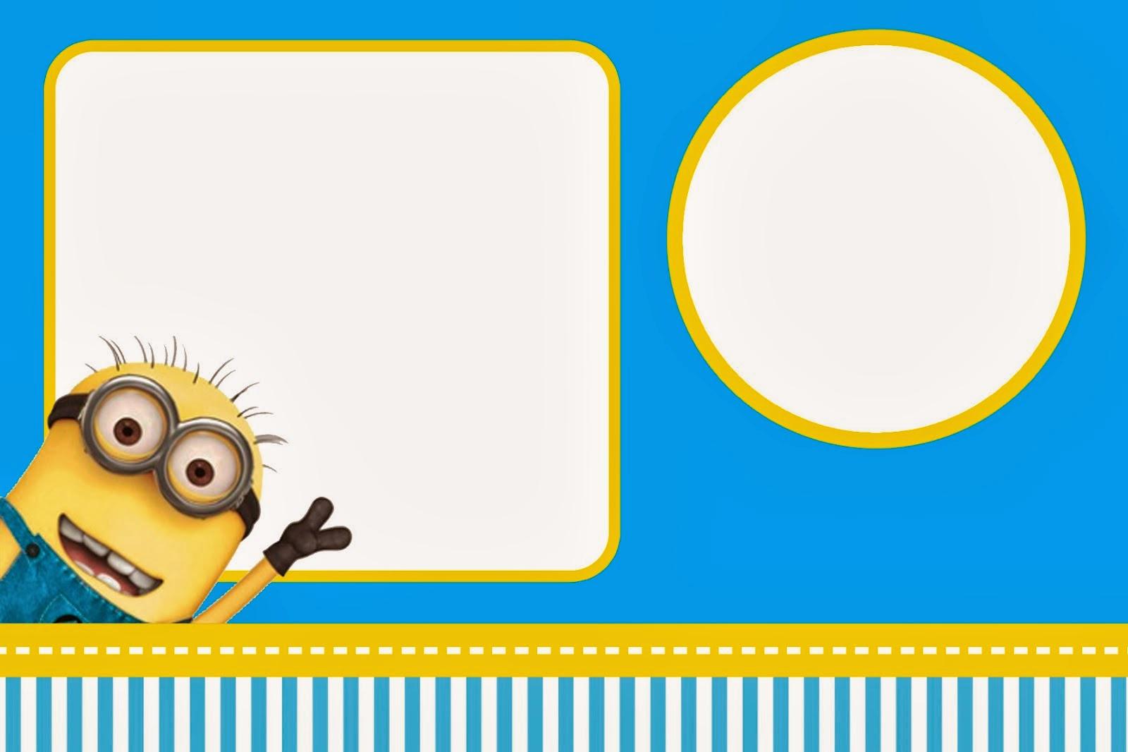 Free Minion Invitation Template Awesome Impressos Minions – Free – Aprenda Confeitaria E