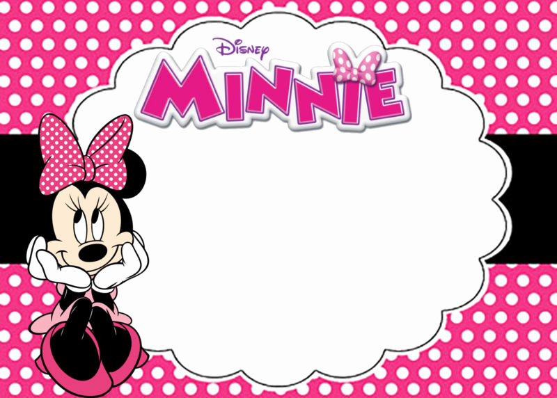 Free Minnie Mouse Invitation Maker Awesome the Largest Collection Of Free Minnie Mouse Invitation