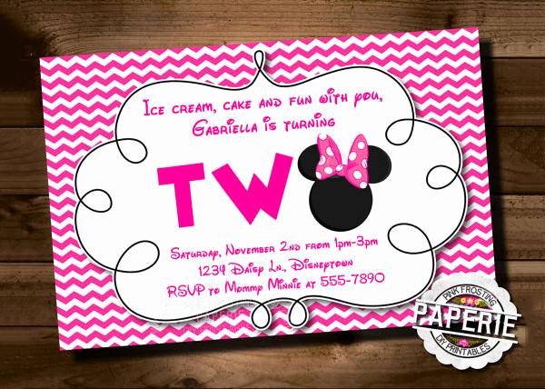 Free Minnie Mouse Invitation Maker Inspirational 23 Awesome Minnie Mouse Invitation Templates Psd Ai