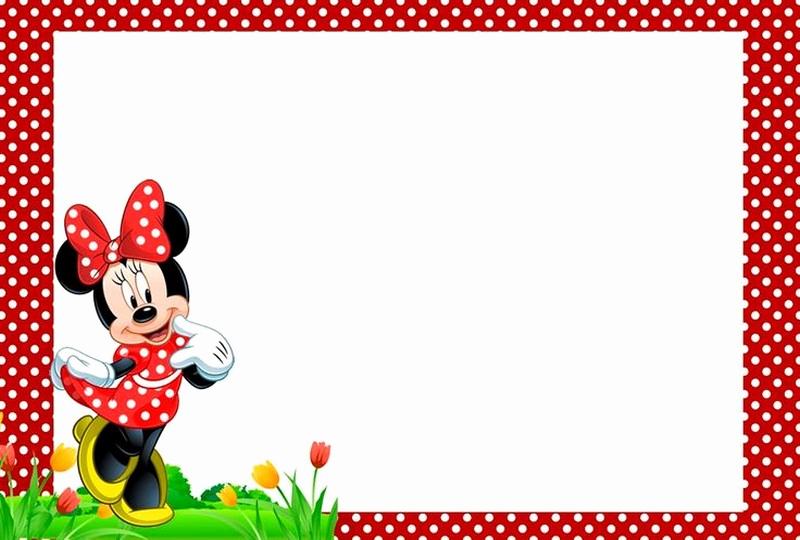 Free Minnie Mouse Invitation Maker New Minnie Mouse Free Printable Invitation Templates