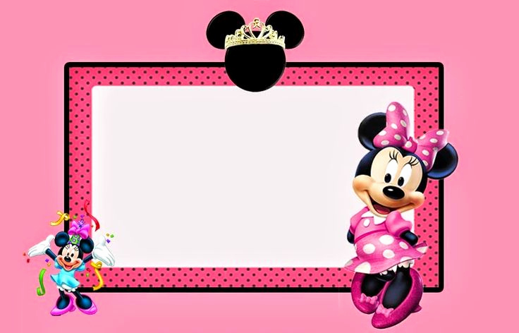 Free Minnie Mouse Invitation Maker Unique 17 Best Images About Classroom Decoration Mickey & Minnie