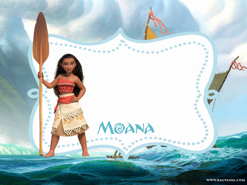 Free Moana Invitation Template Best Of Free Printable Moana Invitation Template – Free Printable