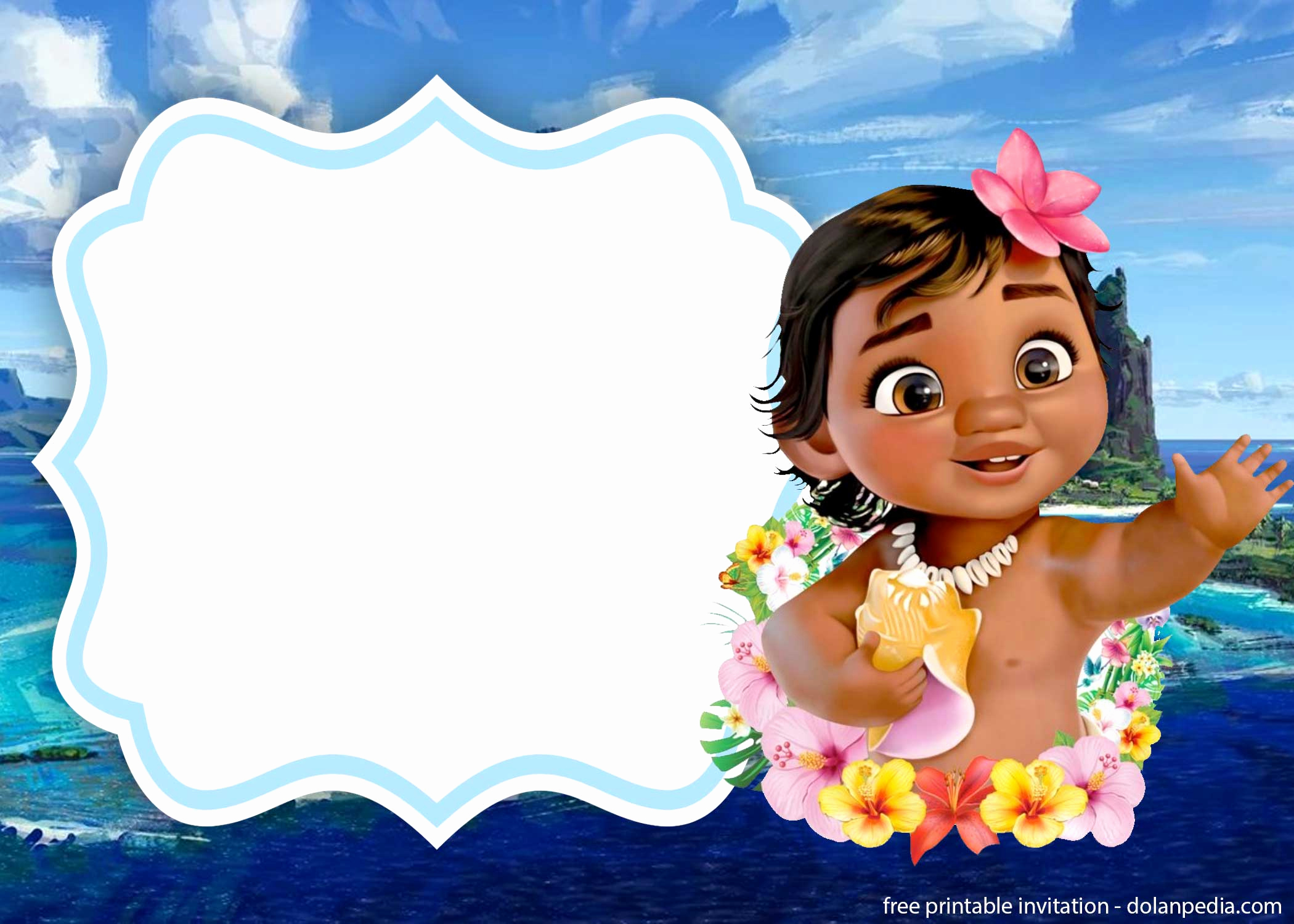 Free Moana Invitation Template Luxury Free Printable Moana Invitation Templates