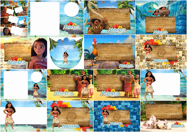 Free Moana Invitation Template Luxury Moana Free Printable Invitations