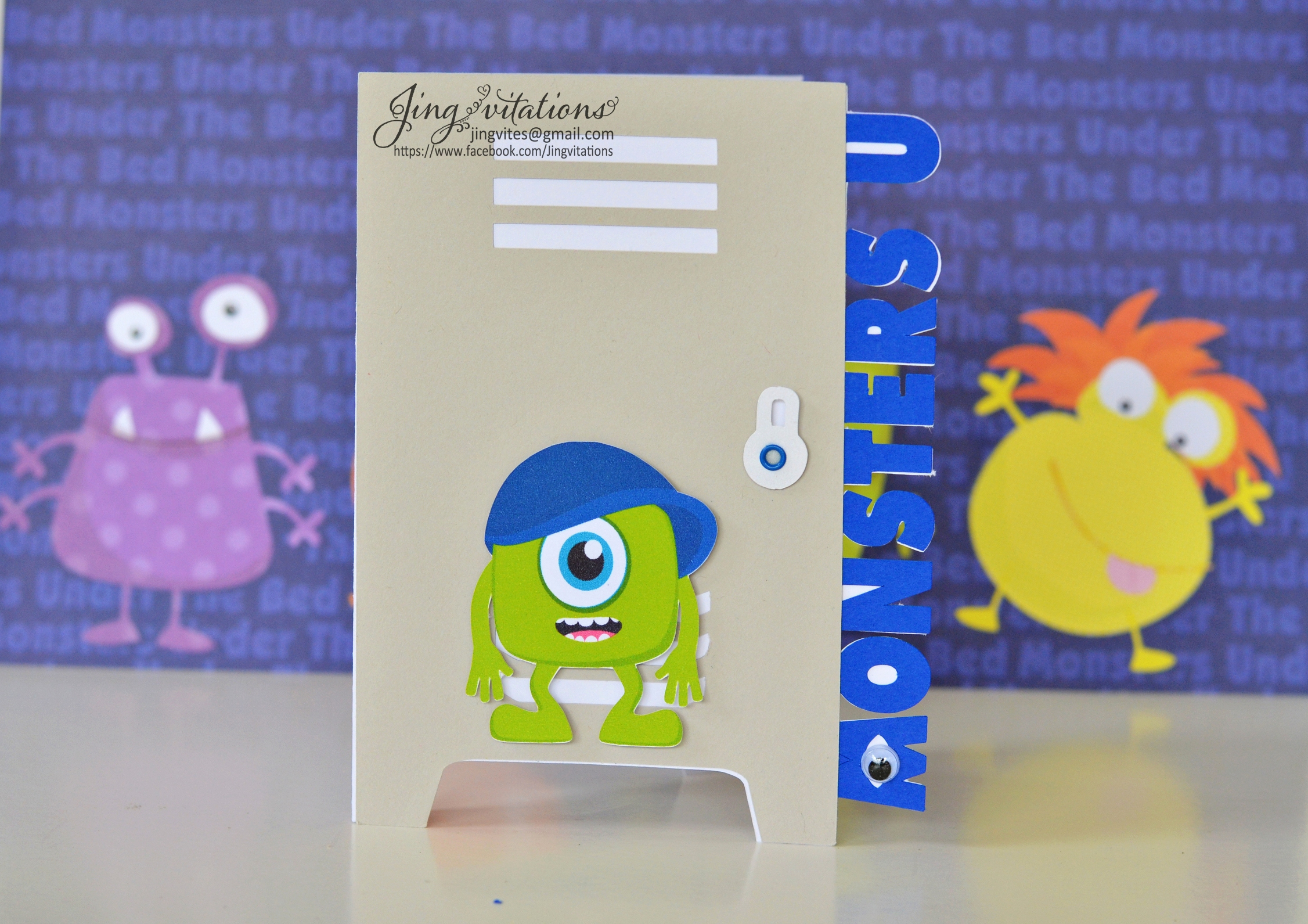 Free Monsters Inc Invitation Template Awesome Monster University Birthday Invitations