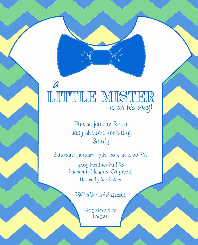 Free Onesie Invitation Template Awesome Esie Baby Shower Invitation Template Diy Editable Template