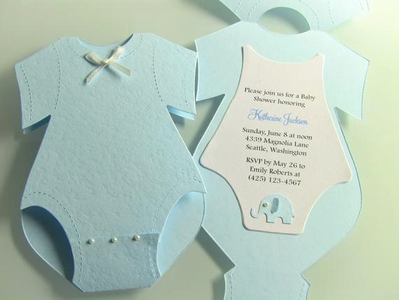 Free Onesie Invitation Template Beautiful 17 Yellow Esie Baby Shower Invitations Grey Elephant White