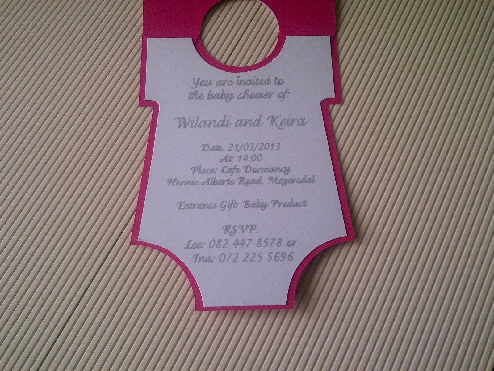 Free Onesie Invitation Template Elegant Best S Of Esie Template for Baby Shower Invitation
