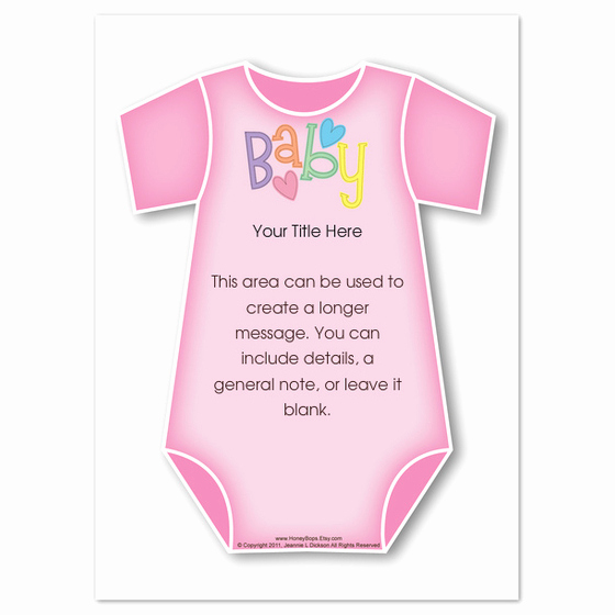 Free Onesie Invitation Template Unique Pink Baby Esie Invitations & Cards On Pingg