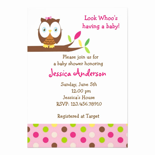 Free Owl Invitation Template Awesome Owl Invitations 5200 Owl Announcements Invites