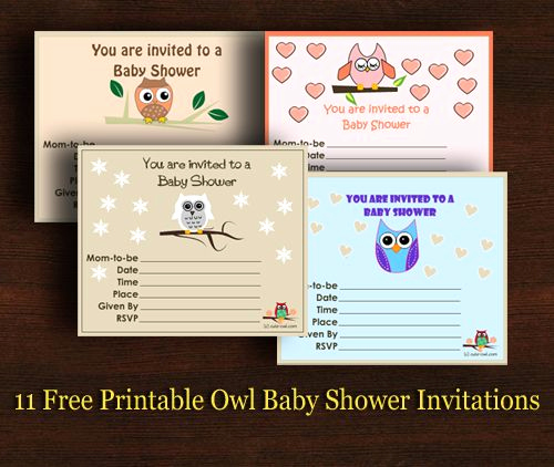 Free Owl Invitation Template Elegant 11 Free Printable Owl Baby Shower Invitations Templates