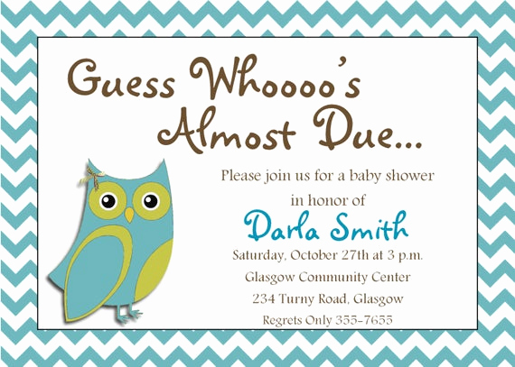 Free Owl Invitation Template Elegant Items Similar to It S A Boy Printable Owl Baby Shower