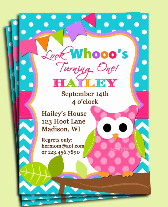Free Owl Invitation Template Lovely Free Baby Stuff In Madison Wi