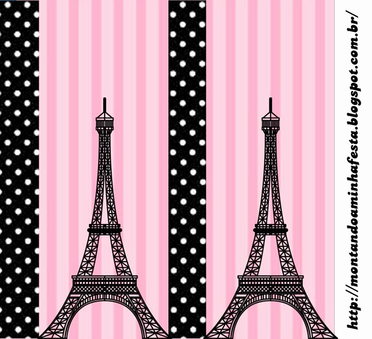 Free Paris themed Invitation Template Unique Paris Free Printable Candy Bar Labels Sweet 16