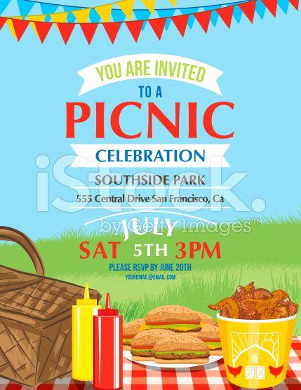 Free Picnic Invitation Template Beautiful Summer Picnic and Bbq Invitation Flyer or Template Text
