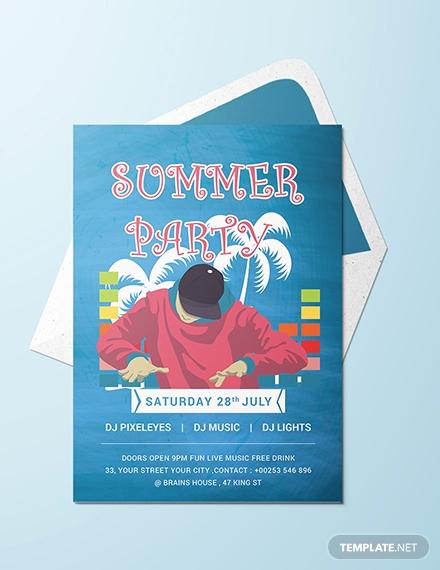 Free Picnic Invitation Template Luxury Free Summer Picnic Party Invitation Template Download 344