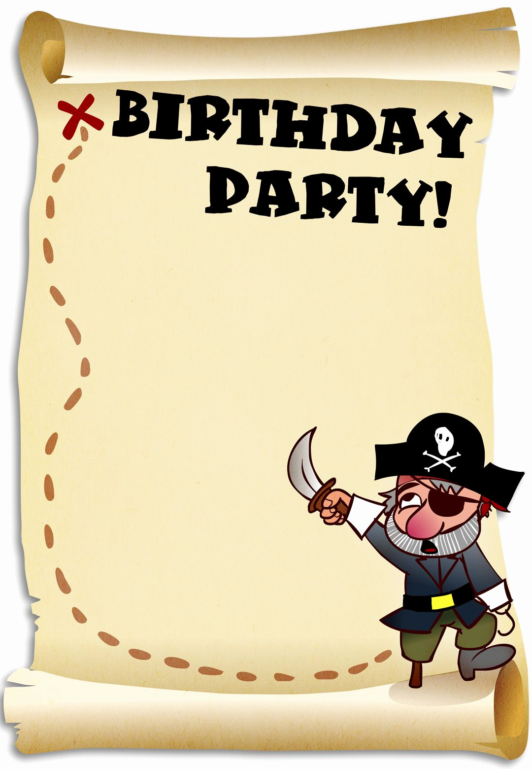 Free Pirate Invitation Template Luxury Free Printable Birthday Pirates Invitation