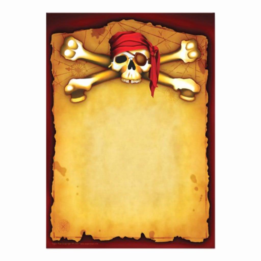 Free Pirate Invitation Template Luxury Template Invitation Free Pirate