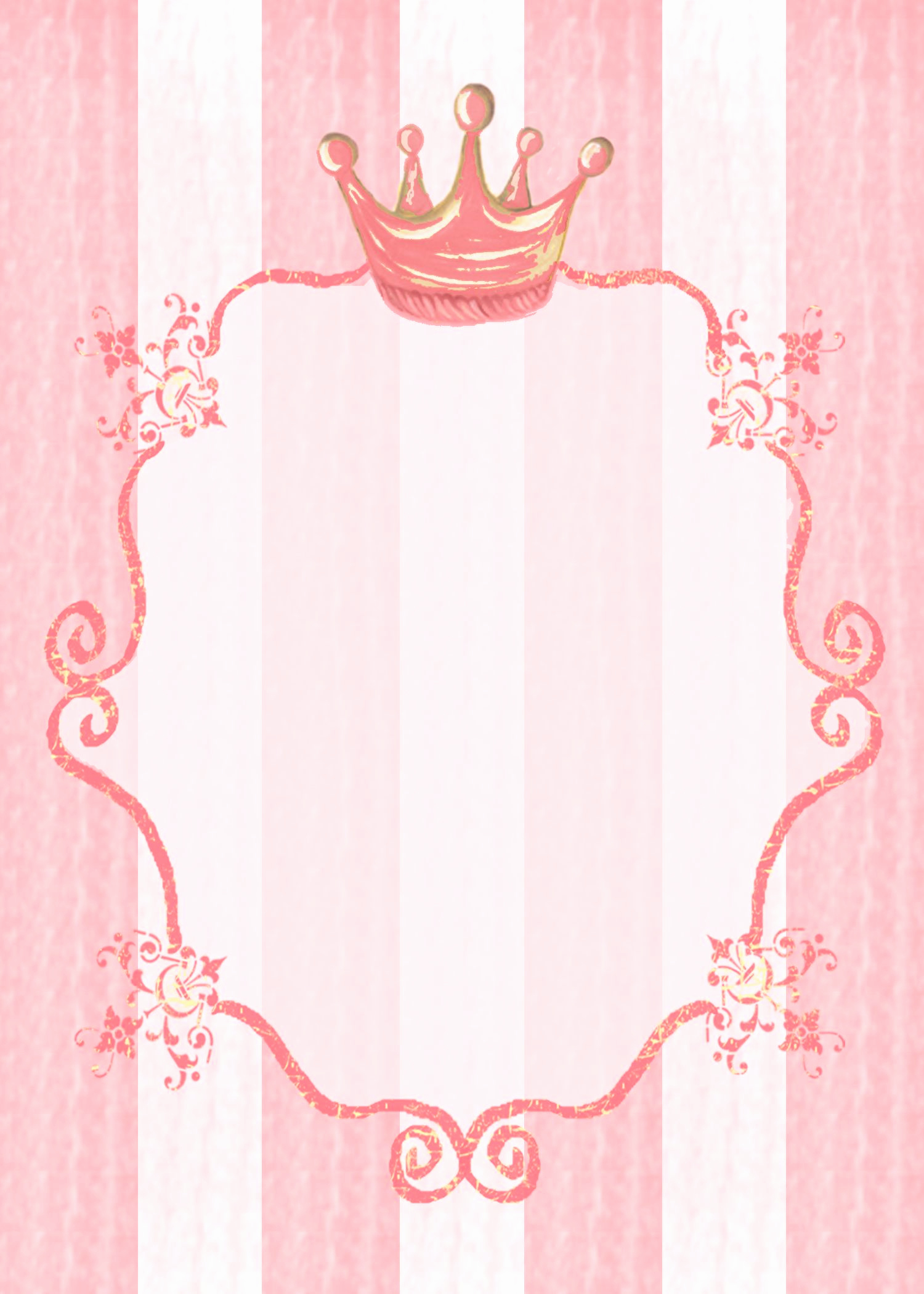 Free Princess Invitation Template Elegant Princess Party Invitation Background Kids Stationery