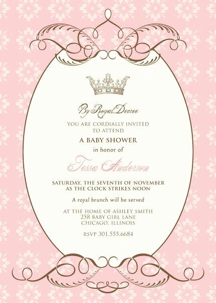 Free Princess Invitation Template Unique Pinterest • the World's Catalog Of Ideas