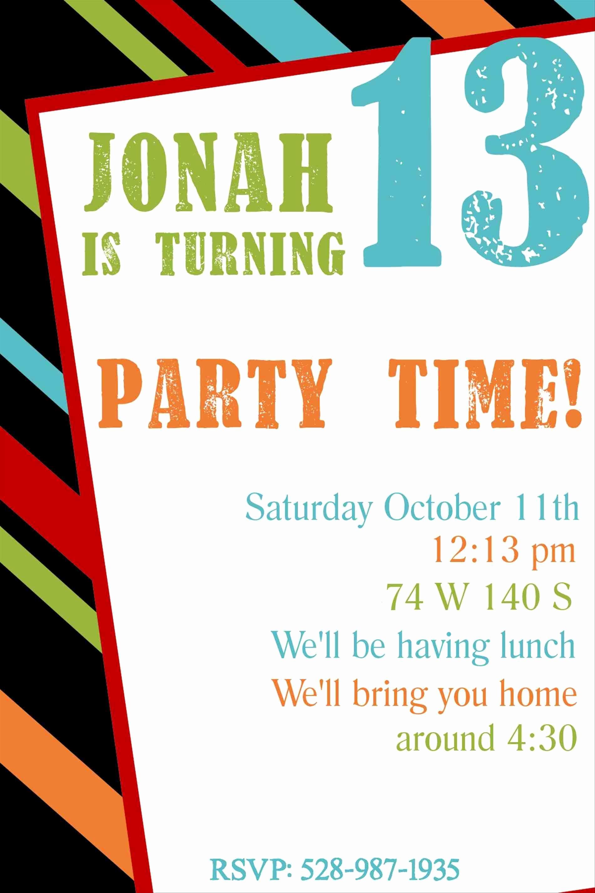 Free Printable Birthday Invitation Templates Inspirational Full Size Of Template Free Printable Kids Birthday Party