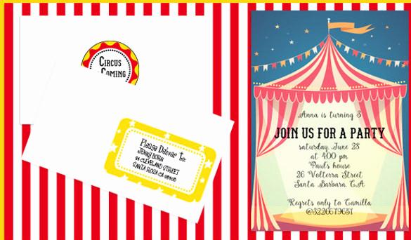 Free Printable Carnival Invitation Templates Beautiful Free Printable Carnival Invitations