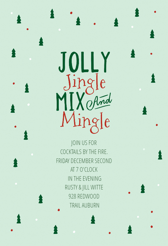 Free Printable Christmas Invitation Templates Awesome Gifted Christmas Invitation Template Free