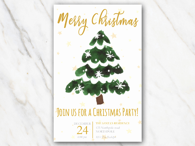Free Printable Christmas Invitation Templates Lovely Free Printable Christmas Invitation Templates In Word