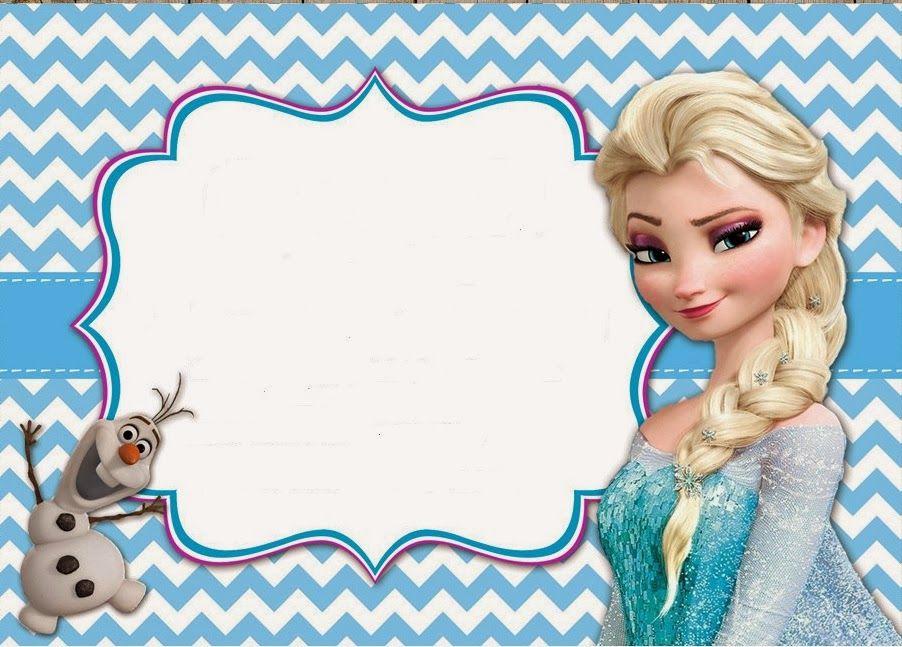 Free Printable Frozen Invitation Template Elegant Frozen Party Free Printable Invitations