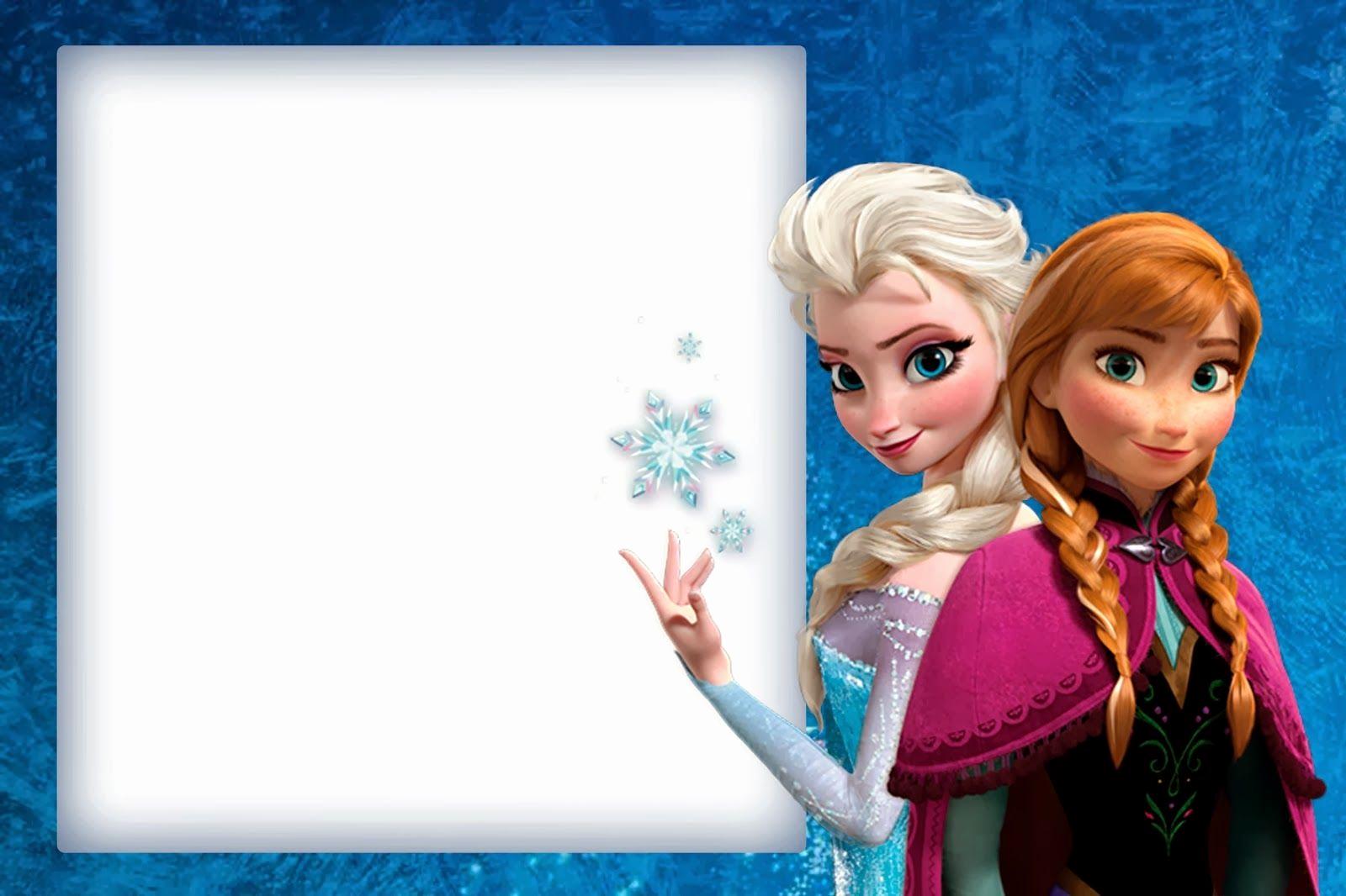 Free Printable Frozen Invitation Template Fresh Frozen Cute Free Printable Invitations A Few Nice Ones