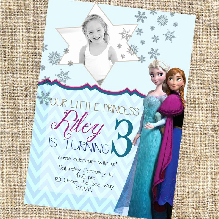 Free Printable Frozen Invitation Templates Beautiful top 25 Best Free Frozen Invitations Ideas On Pinterest
