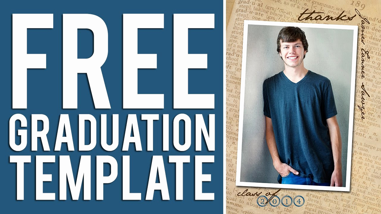 Free Printable Graduation Invitation Templates Best Of Free Graduation Templates Tutorial Shop & Elements